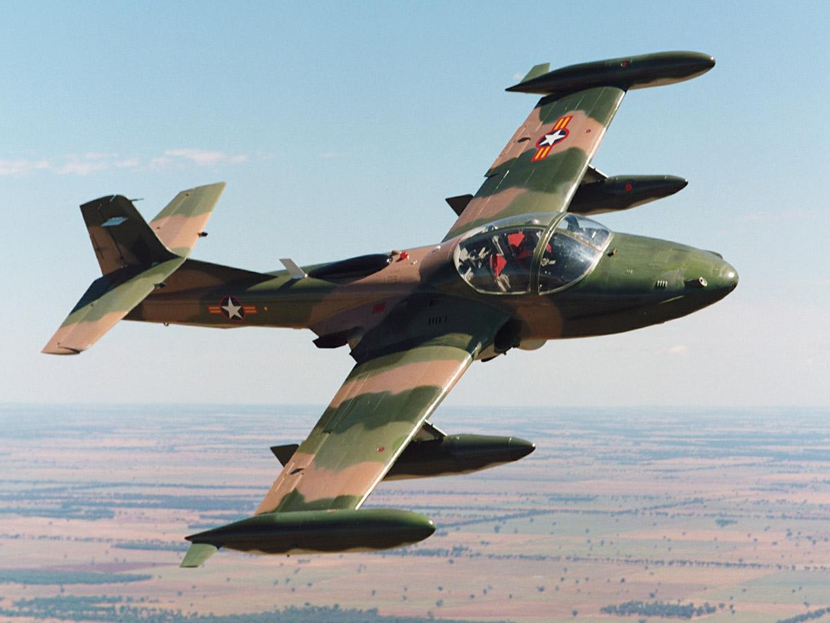 Cessna A-37B Dragonfly