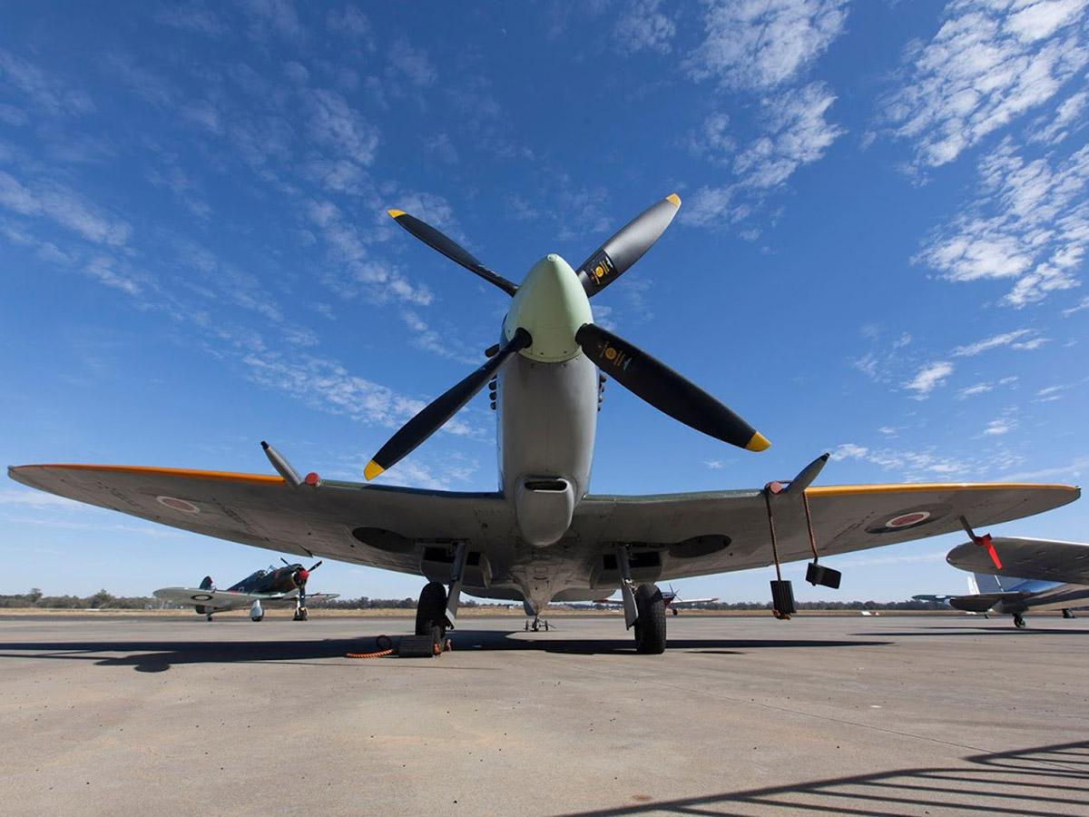 Mk XVI Spitfire front view
