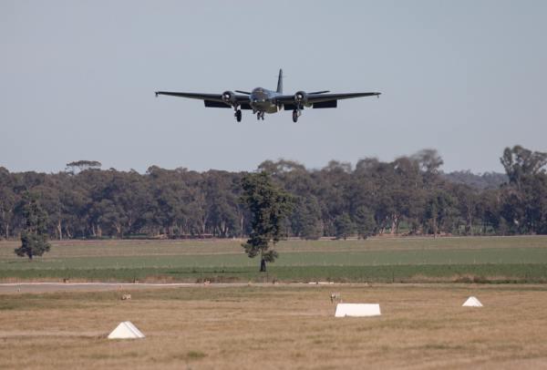 English Electric Canberra return to flight